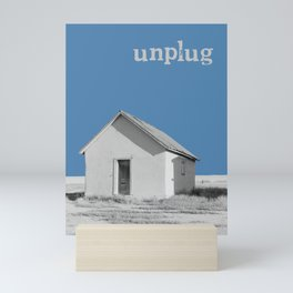 Unplug Mini Art Print