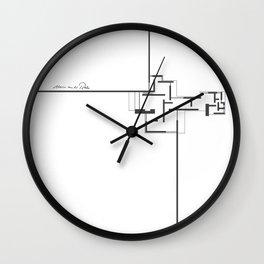 Mies! Wall Clock
