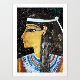 SOLAR GODDESS Art Print