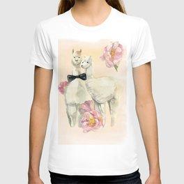 two lamas T-shirt