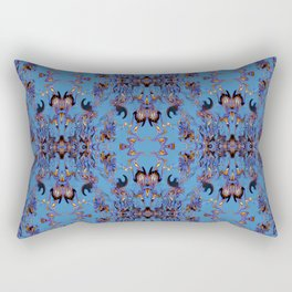 A Day of the Tribes Rectangular Pillow
