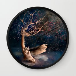 Thousand Cherry Blossoms Wall Clock
