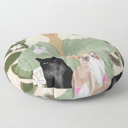 Cat Mom Floor Pillow