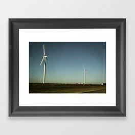 Amarillo Turbine Framed Art Print