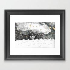 The Escape Framed Art Print