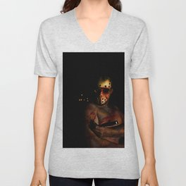 he's a mummy's boy really Unisex V-Neck