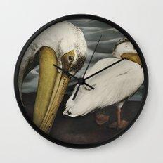 Tom Feiler Pelican Wall Clock