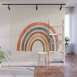 Abstract Rainbow 88 Wall Mural