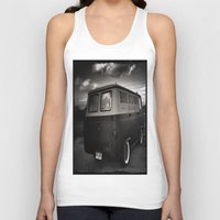 ford Tank Tops featuring old ford by Joedunnz
