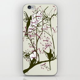 Hummingbirgds, before anything had a soul iPhone Skin