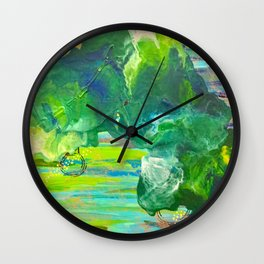 Lights Out Wall Clock