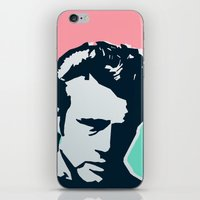 james franco iPhone & iPod Skins featuring  james  by mark ashkenazi