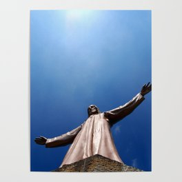 Tibidabo Church. Barcelona, Spain. Catalonia. Poster