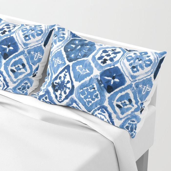 Arabesque tile art Pillow Sham