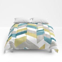 Bright geometrical pattern Comforters