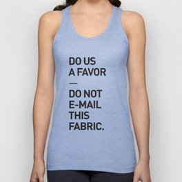 Save the planet. Unisex Tank Top