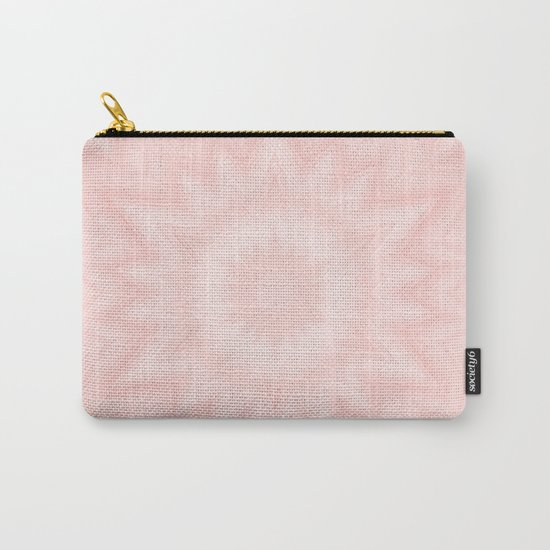 Pink starburst Carry-All Pouch