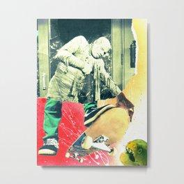 Sick Boy Thrashin Metal Print