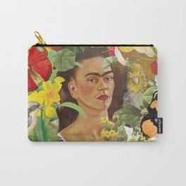 Frida Kahlo Collage Carry-All Pouch