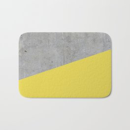 Concrete and Meadowlark Color Bath Mat