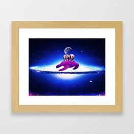 Earth dream Framed Art Print