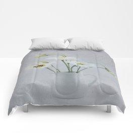 Lisianthus Comforters