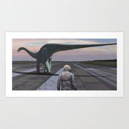 Diplodocus Art Print