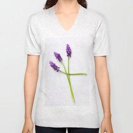 hyacinth Unisex V-Neck