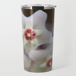 Hoya Flowers Travel Mug