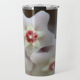 Hoya Flowers Travel Mug