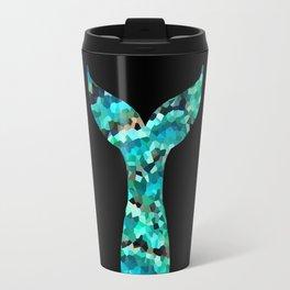 Mermaid Tail Turquoise Mint Aqua Travel Mug