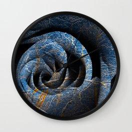 Susquehanna Winter Rose Wall Clock