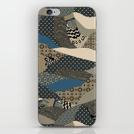 Patchwork Power iPhone Skin