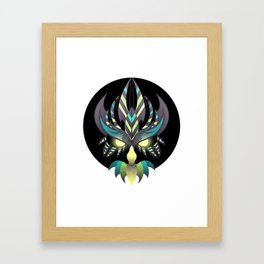 Aztec Owl Framed Art Print