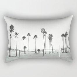Bleached Beach Rectangular Pillow