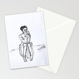 One-Line Drawing 01 Stationery Cards