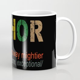 Fathor noun hero Coffee Mug