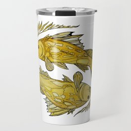 Stylefish Calico Bass Travel Mug