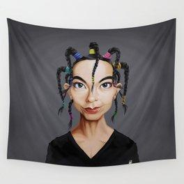 Celebrity Sunday ~ Björk Wall Tapestry