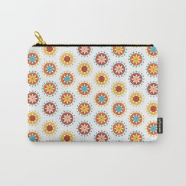 Casino Chip Pattern Carry-All Pouch