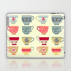 Tea Cups Laptop & iPad Skin