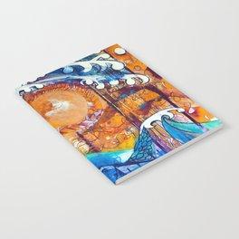 Aoukusai Wave Notebook
