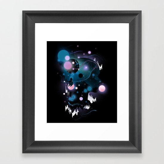 Cosmic Dreams Framed Art Print