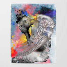 angel male nude Poster