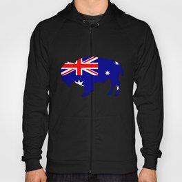 Australian Flag - Bison Hoody