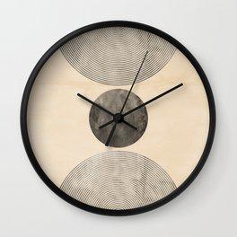 The Black Moon Wall Clock