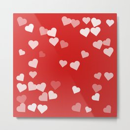 Hearts for Love Metal Print