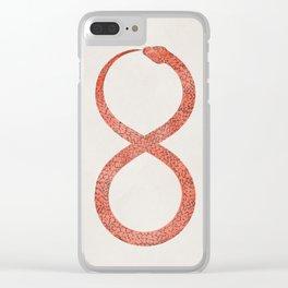Ouroboros Clear iPhone Case