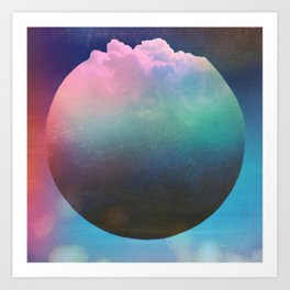 Pop Corn Planet Art Print