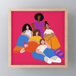 IWD 2021 Framed Mini Art Print